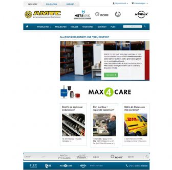 Bezoek de website van AMTC BV - All Round Machinery and Tool Company