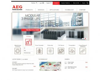 Bezoek de website van AEG Power Solutions BV